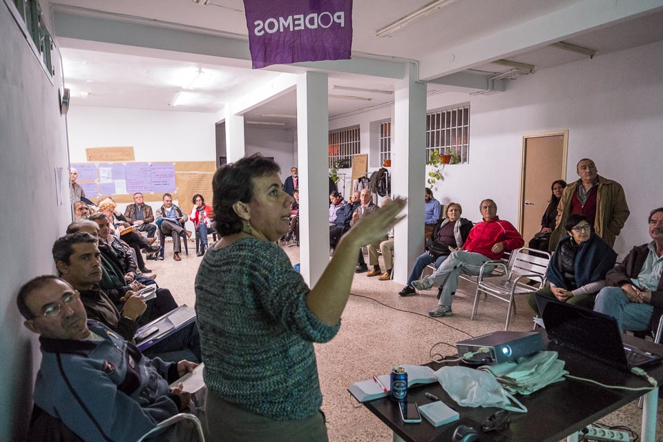 Versammlung Podemos San Blas/ Canillejas